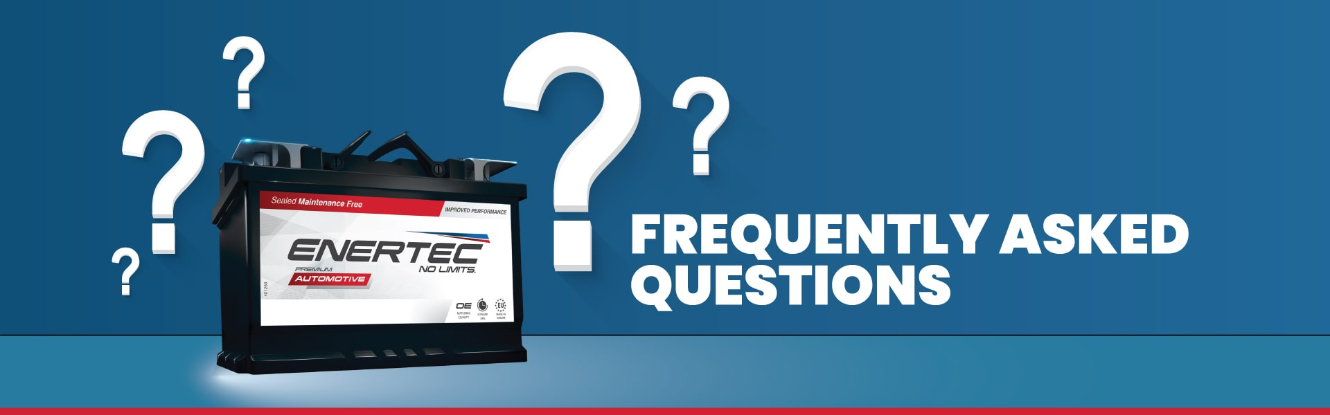 Frequently Asked Questions at Enertec Batteries